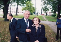Jaroslav Ermis and Krista Lehertová in 2007