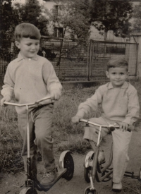 Sons of Kamila Karnikova - John and George