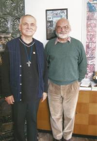 František Lízna s bratrem Vladimírem