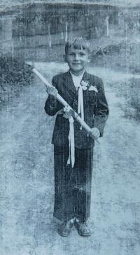 František Lízna, 1948 první svaté přijímání