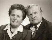 Ludmila a Radomír Vlk 1976
