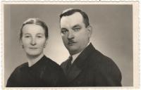 Matylde a František Jarkuliš, Gabriela's grandparents, around 1950
