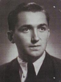Antonín Pospíšil - contemporary photo from the gymnasium.