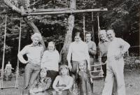 Antonin Pospisil on a youth trip to the former Eastern Germany, around 1977.