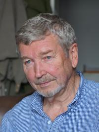 Pamětník Josef Bábek - současná fotografie.