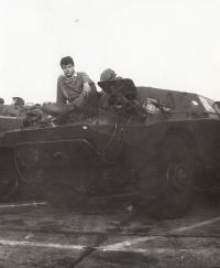 Na vojně v Michalovcích na Slovensku, r. 1984-1986