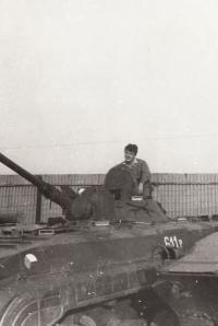 Josef Bernard - military service in Michalovce in Slovakia; 1984-1986