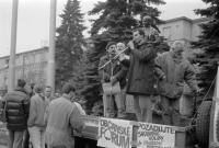 Josef Bernard - generally strike; 23. 11. 1989