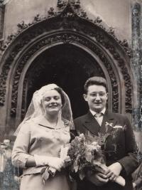 Jarmila and Lubor Dvorak, March 1959