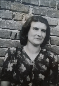 Eva Roubinkova at the end of the war