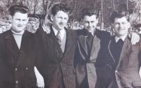 Brothers Langer. From left, Antonín, Josef, František, Václav.