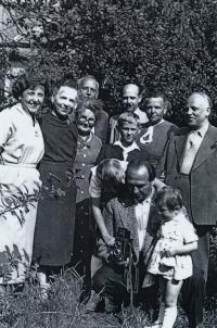 Szaló family, 1961