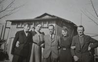 Bedřichovo biřmování. Drážďany 1940.