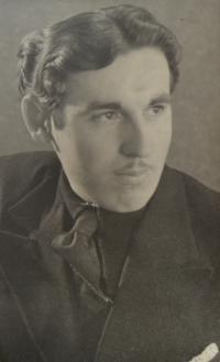 Bedřich po válce. Drážďany 1948.