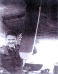 Petr Gibian, WW II
