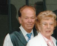 Petr Gibian with his common-law wife