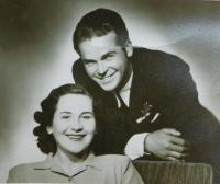 Parents Václav and Ludmila Švéda