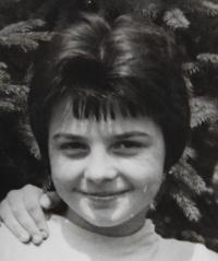 Ludmila Švédová (Zouharová) - 1959