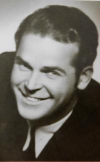 Wedding photograph of father Václav Švéda