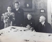 Vaclav and Ludmila Švéda in 1946