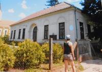 School in Gerendas, Hungary, where Josef Hocz was born