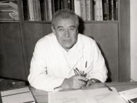 Antonin Dolezal - in his office