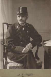 grandfather Antonin Dolezal - post office