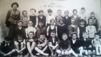 Školní třída 1940 Lysá nad Labem