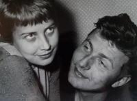 Mojmír Kyselka and his Wife