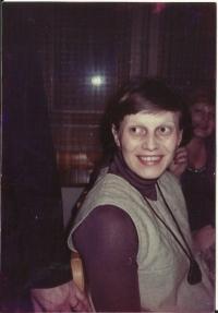 Paní Hana Ascherlová v roce 1982.