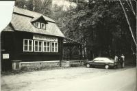 Pohled na Hájenku, ze soukromé fotodokumentace Hany Ascherlové.