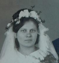Hana Krejčová (Radenko) - 1945