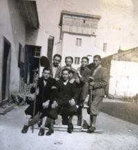 Jewish youth in Chust. 1943