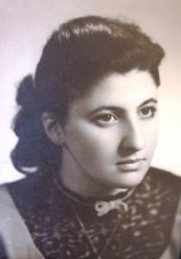 Wife Alice née Brandšteinová, Prague 1950´s