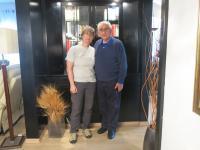 MUDr. Antonín Moťovič and Jitka Radkovičová. Kfar Saba, March 2018.