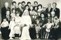 Witness marrying Anna Duffalová, 1982