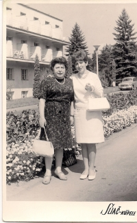 Mother and Zita Spa of Sliač 1966