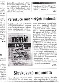 Review of the book Assassination and persecution of Roudnice students