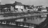 Stehlíček house and the river Olšava