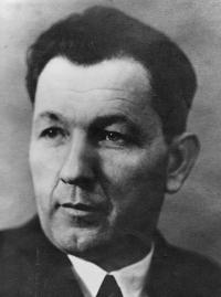 Zdenka Vévodová's father Martin Stehlíček
