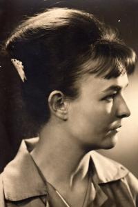 Eva Václavková in 1962