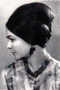 Eva Václavková in 1971