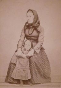 His grandmother, Marie