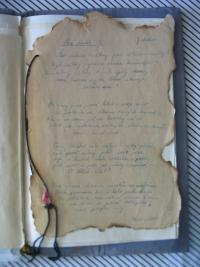 báseň Jiřího Wolkera (zapsána Annou Kovanicovou v Terezíně)