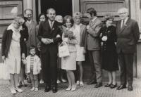 First weding - July 1971