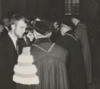 Promotion at Charles University - 1964