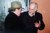 With Ludvik Rybáček