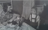 Birth of younger brother - 1944
