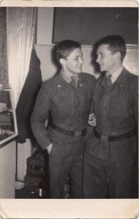 Dukla Jihlava, beginning of military service, 1962