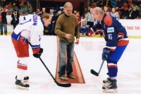 R. Farda's farwell from veterans active career at match CZ - SK, November 2015